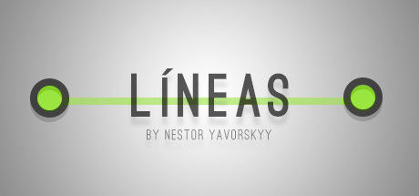 Lines by Nestor Yavorskyy Linux Front Cover Spanish language cover