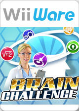 Brain Challenge Wii Front Cover