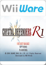 Crystal Defenders Wii Front Cover