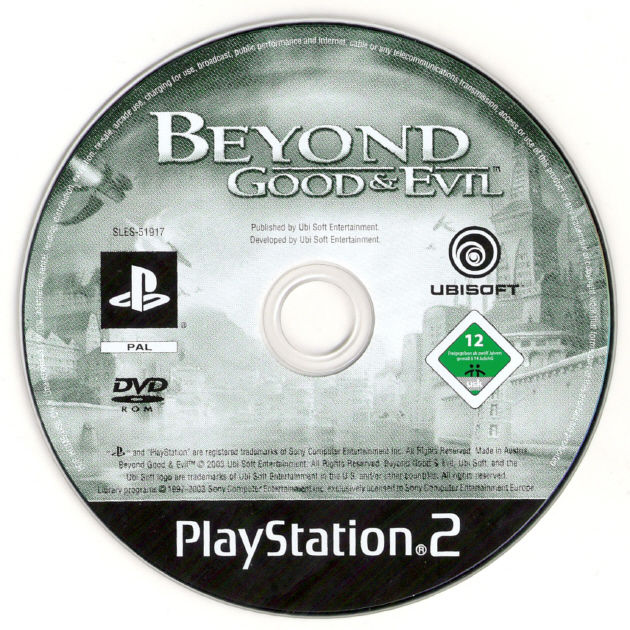 Beyond Good & Evil PlayStation 2 Media