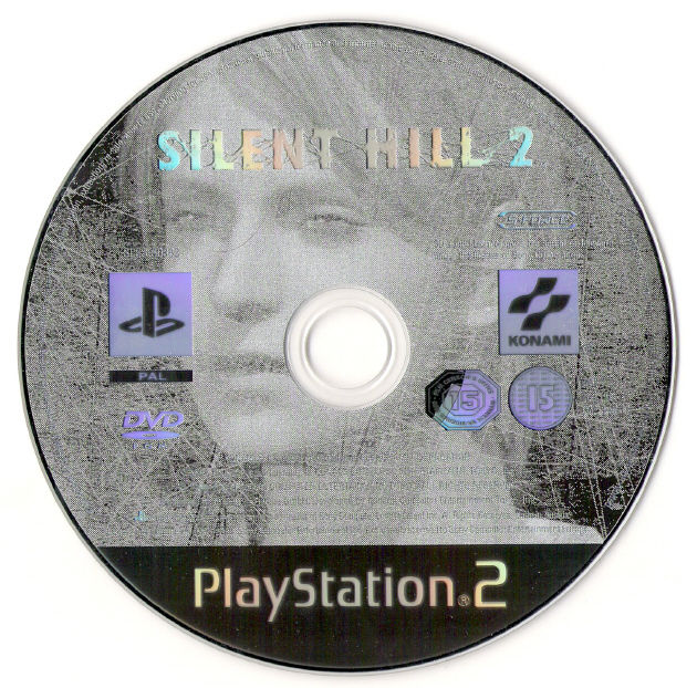 Silent Hill 2 PlayStation 2 Media Game Disc