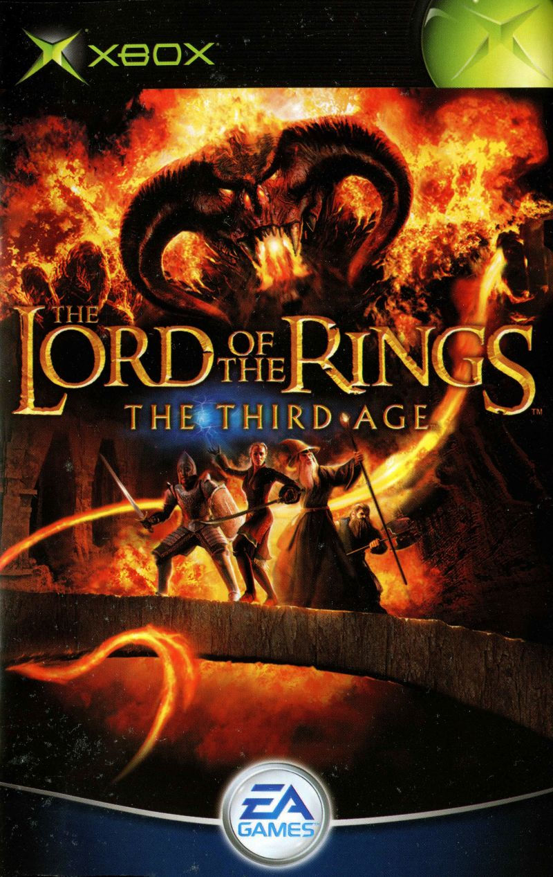 lord of the rings gamecube