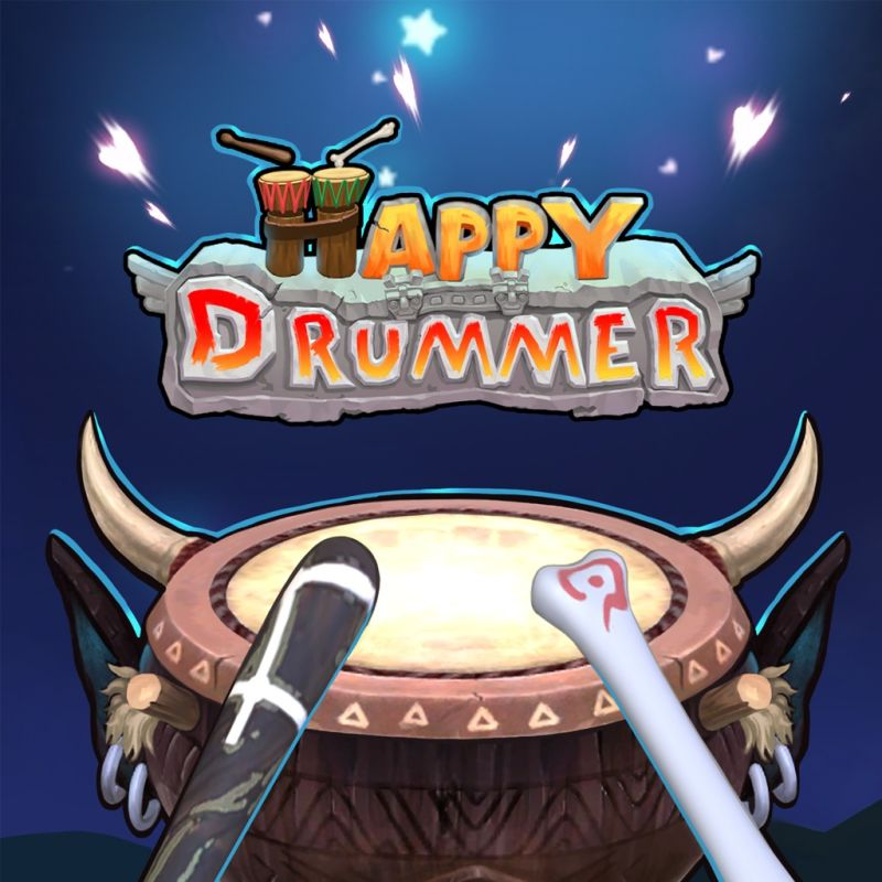 Happy Drummer PlayStation 4 Front Cover