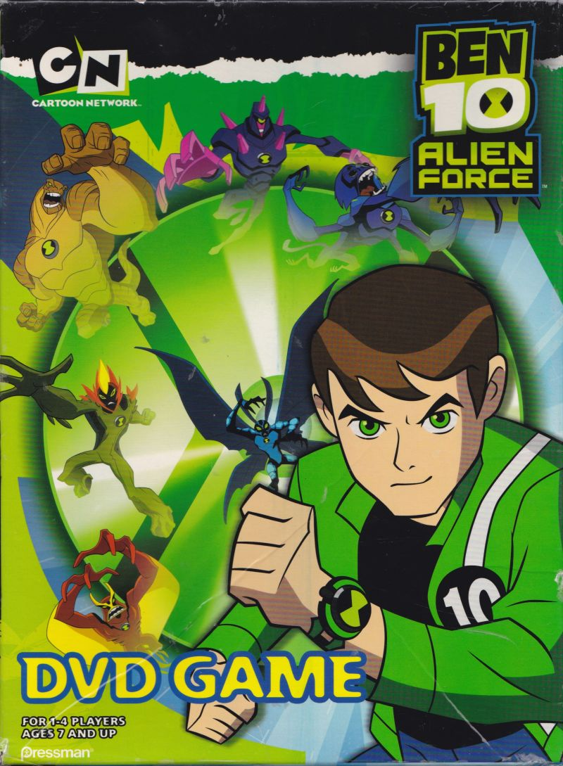 Ben 10: Alien Force - DVD Game (2009) DVD Player box cover