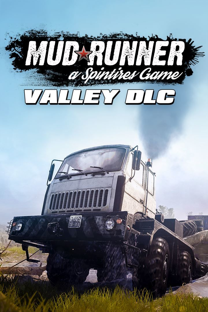 spintires mudrunner valley dlc 2018 playstation 4 box. Black Bedroom Furniture Sets. Home Design Ideas