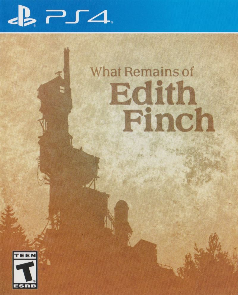 What Remains of Edith Finch PlayStation 4 Front Cover