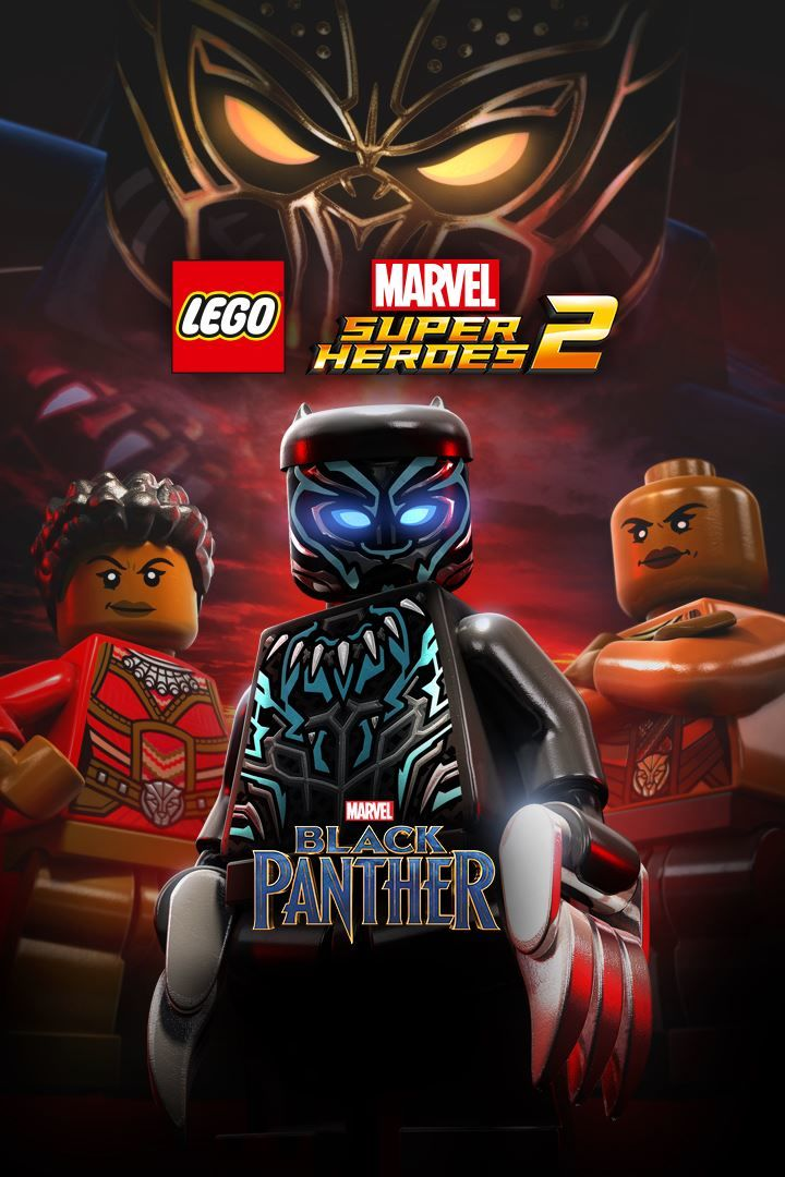 Lego Marvel Super Heroes 2 Black Panther 2018 Xbox One Box Cover