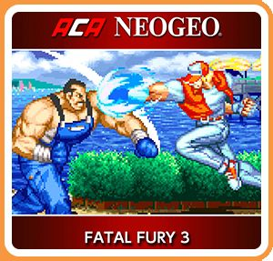 Fatal Fury 3: Road to the Final Victory Nintendo Switch Front Cover