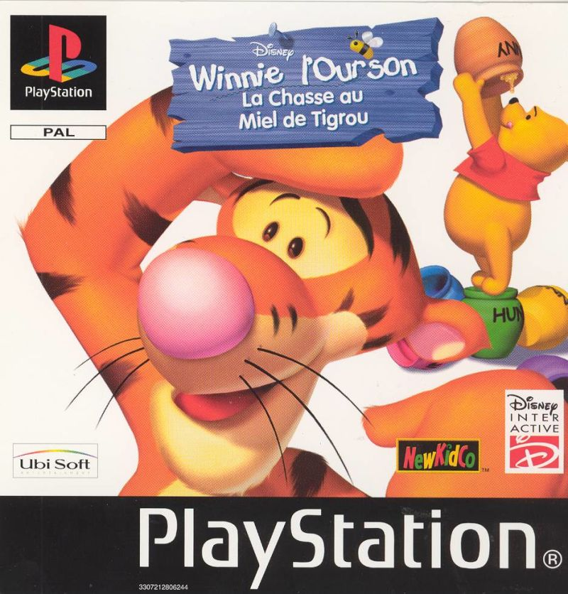 Tigger's Honey Hunt PlayStation Front Cover