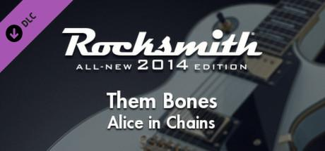 Rocksmith: All-new 2014 Edition - Alice in Chains: Them Bones