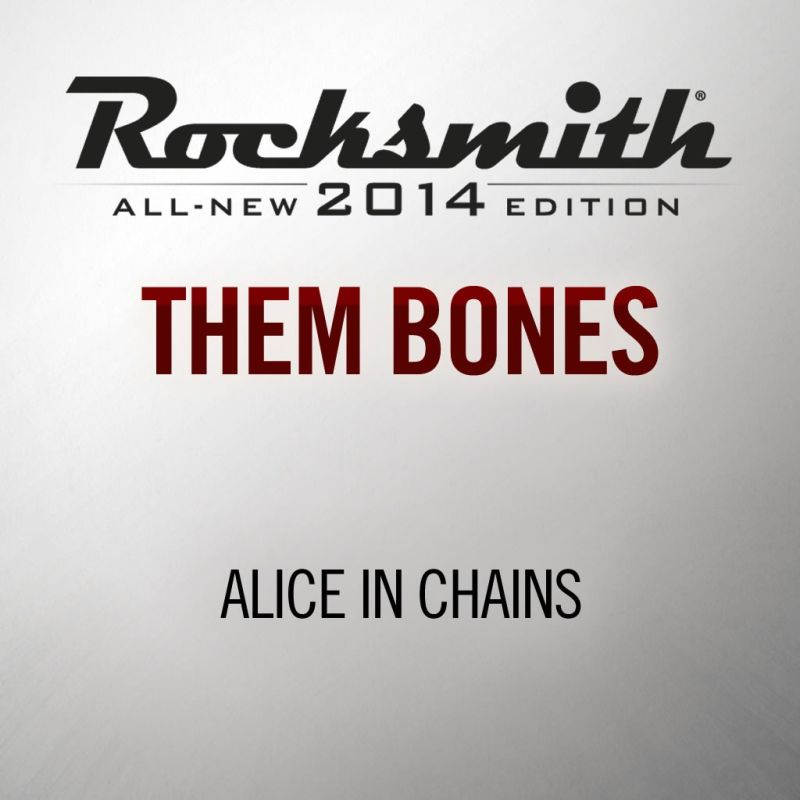 Rocksmith: All-new 2014 Edition - Alice in Chains: Them Bones 2013 pc game Img-3