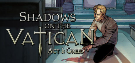 Shadows on the Vatican - Act 1: Greed Windows Front Cover English version
