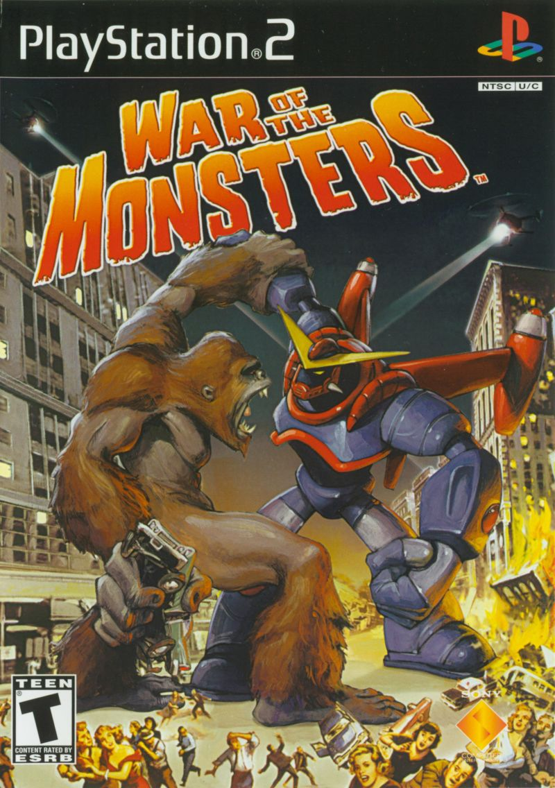 War of the Monsters (2003) box cover art - MobyGames