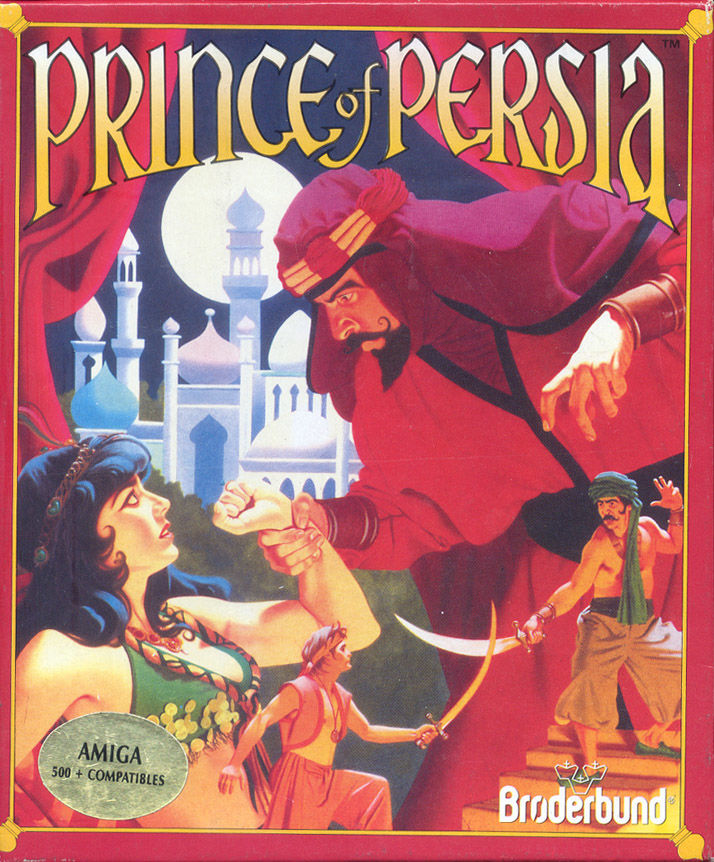 Prince of Persia Amiga Front Cover