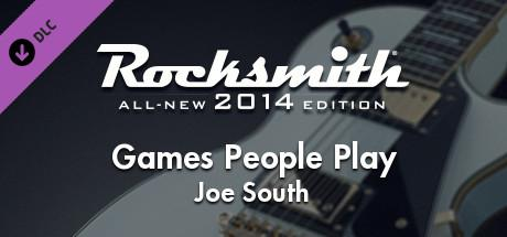 Rocksmith: All-new 2014 Edition - Joe South: Games People Play