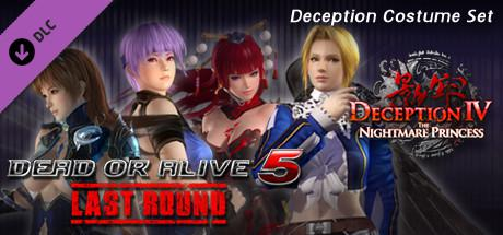 Dead or Alive 5: Last Round - Deception Costume Set