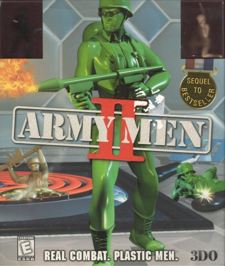 Army Men II Windows Front Cover