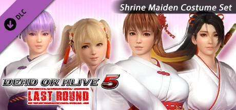 Dead or Alive 5: Last Round - Shrine Maiden Costume Set