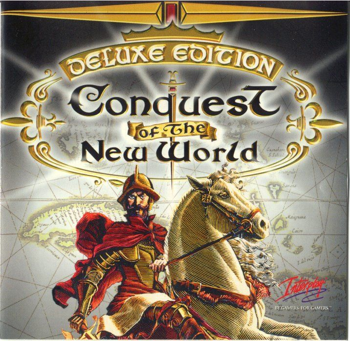 Conquest of the New World: Deluxe Edition DOS Other Jewel Case - Front