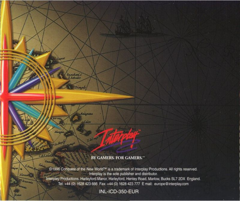 Conquest of the New World: Deluxe Edition DOS Other Jewel Case - Back
