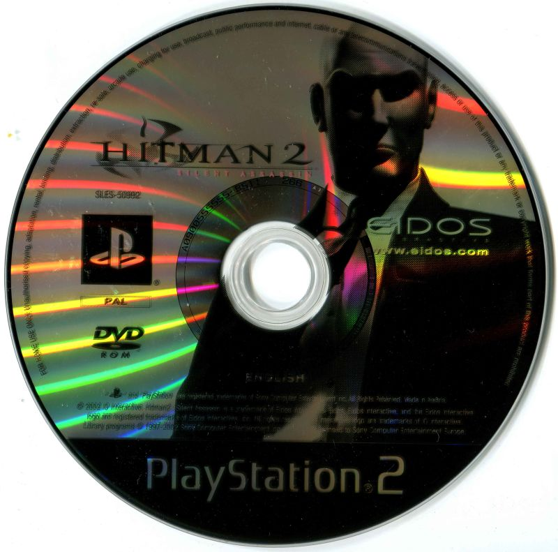 Hitman 2 Silent Assassin 2002 Playstation 2 Box Cover Art