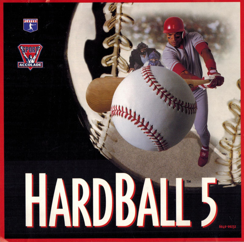 HardBall 5 DOS Front Cover