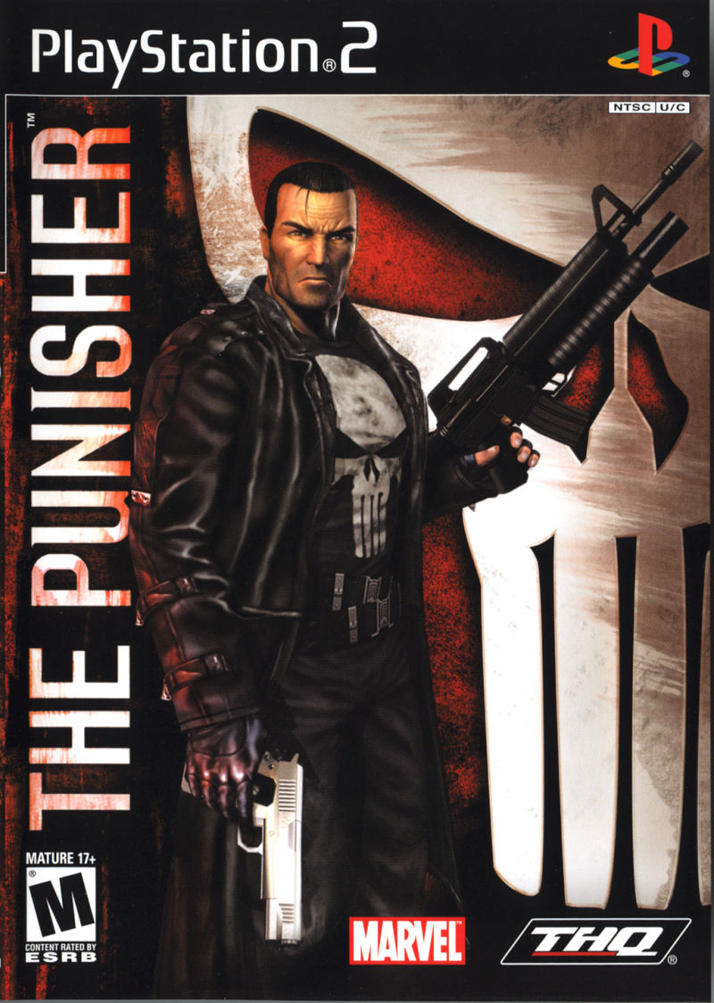The Punisher PlayStation 2 Front Cover