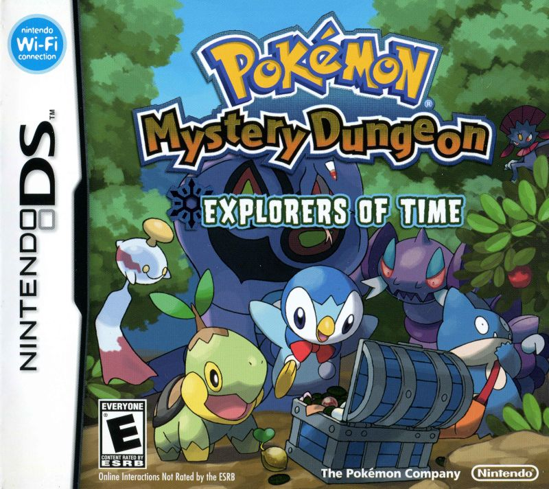 Pokémon Mystery Dungeon: Explorers of Time NintendoDS-ROM Game