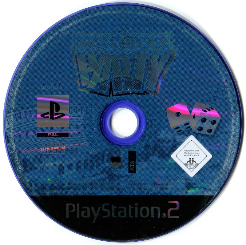 Monopoly party (2002) playstation 2 box cover art mobygames.