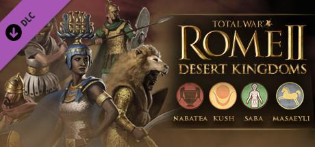 Total War: Rome II - Desert Kingdoms Windows Front Cover
