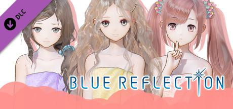 Blue Reflection: Bath Towels Set C (Lime, Fumio, Chihiro)