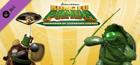 Kung Fu Panda: Showdown of Legendary Legends - Armored Mr. Ping and Jombie Oogway