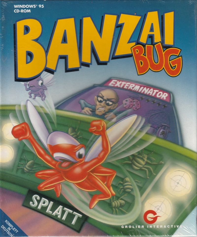 Banzai Bug Windows Front Cover