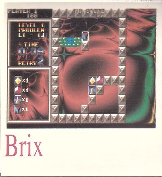 Brix DOS Front Cover