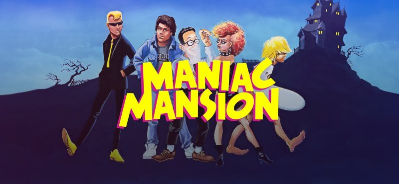 Maniac Mansion Linux Front Cover