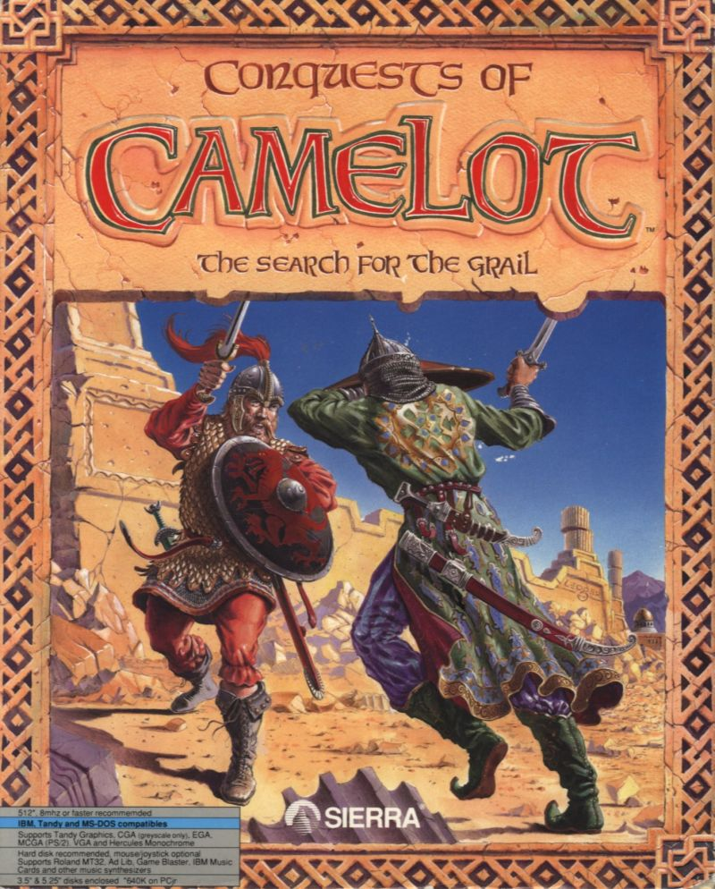Conquests of Camelot: The Search for the Grail for Amiga