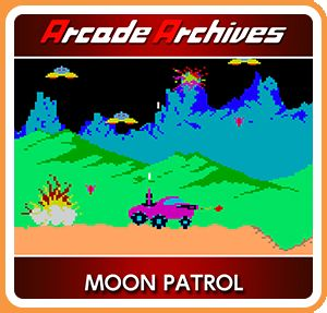 Moon Patrol Nintendo Switch Front Cover 1st version