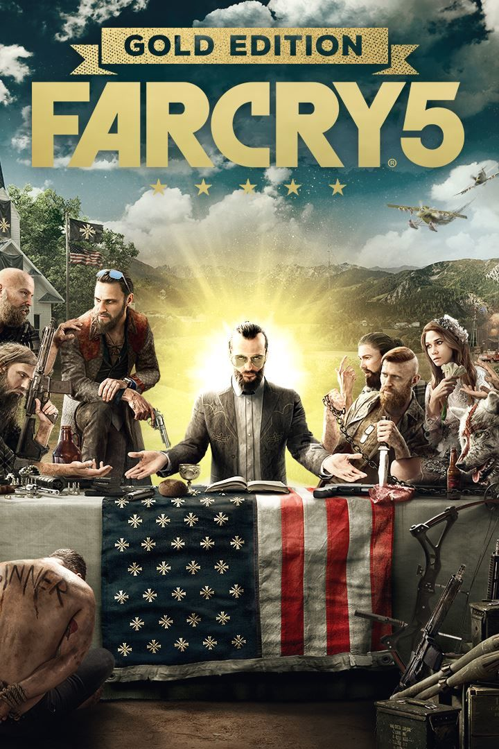 Far Cry 5 Gold Edition 2018 Box Cover Art Mobygames