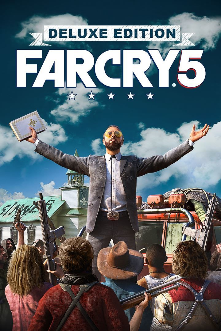 Far Cry 5 Deluxe Edition 2018 Box Cover Art Mobygames