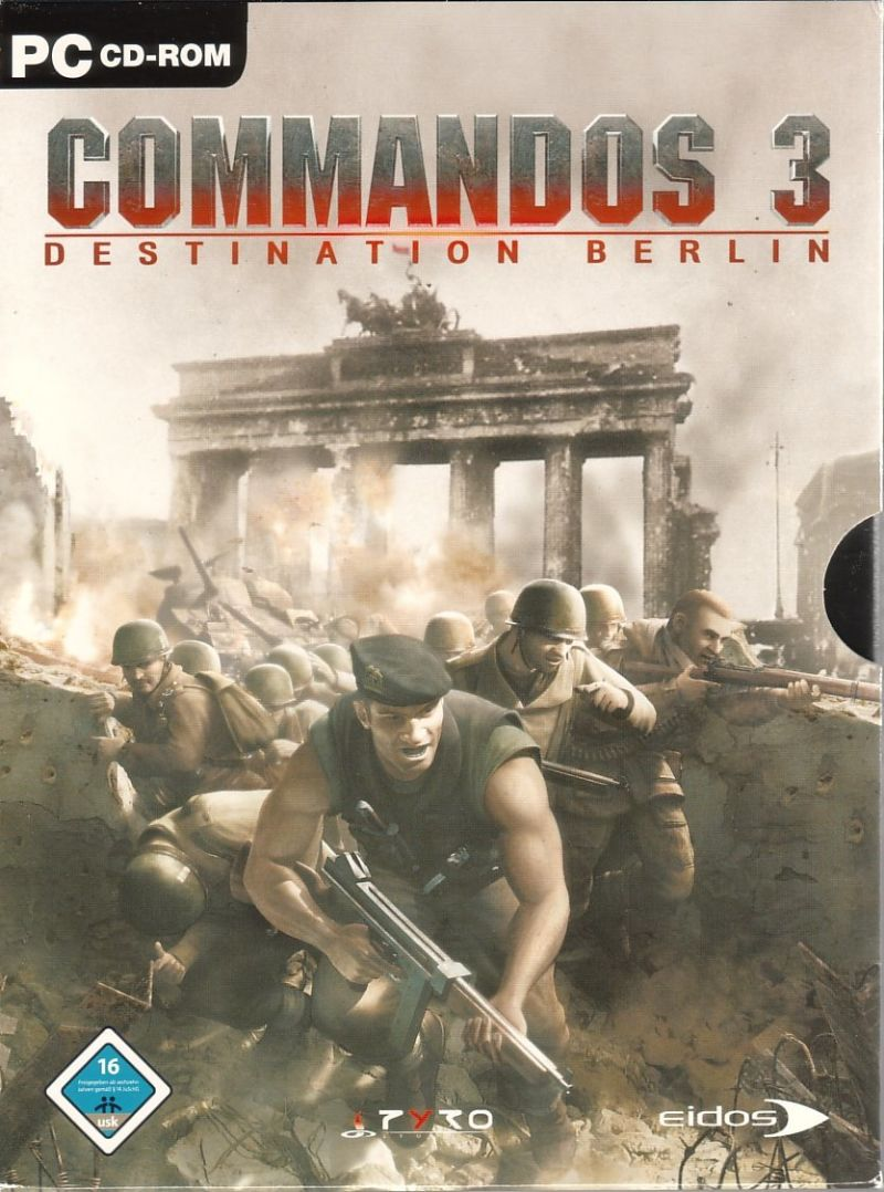 Image result for Commandos 3 Destination Berlin cover pc