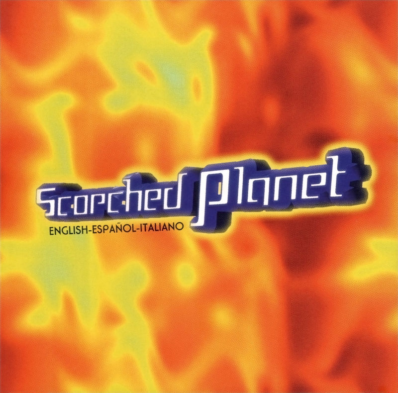 Scorched Planet DOS Other Jewel Case - Front