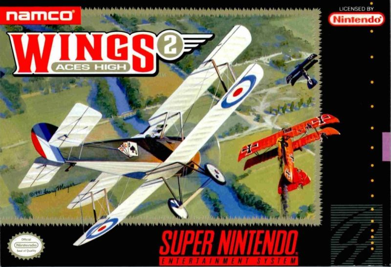Image result for Wings 2: Aces High capa