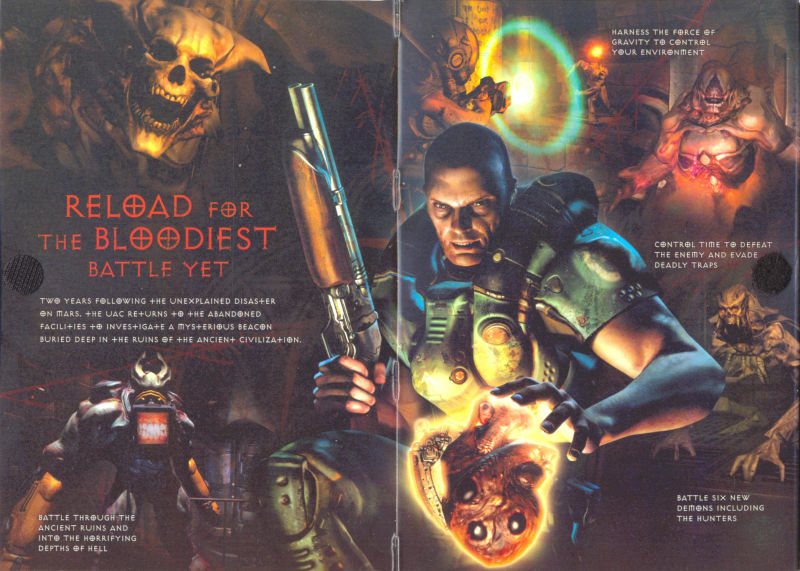 DOOM³: Resurrection of Evil Windows Inside Cover