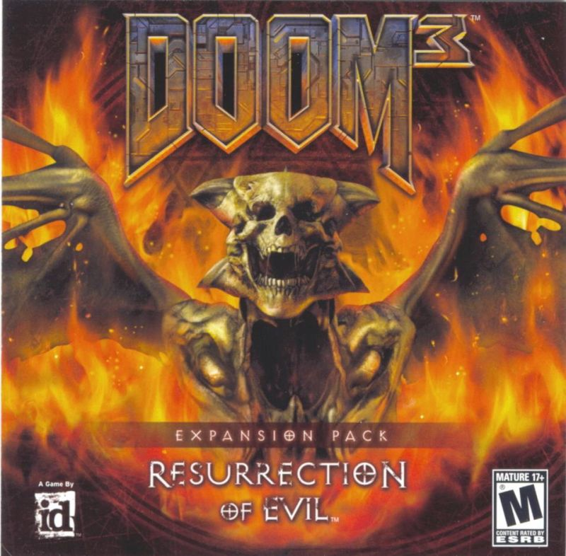 DOOM³: Resurrection of Evil Windows Other Jewel Case - Front