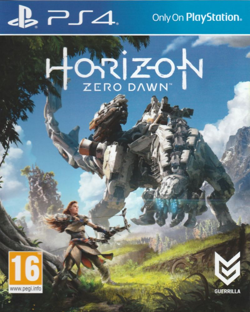 Horizon: Zero Dawn (2017) PlayStation 4 box cover art ...