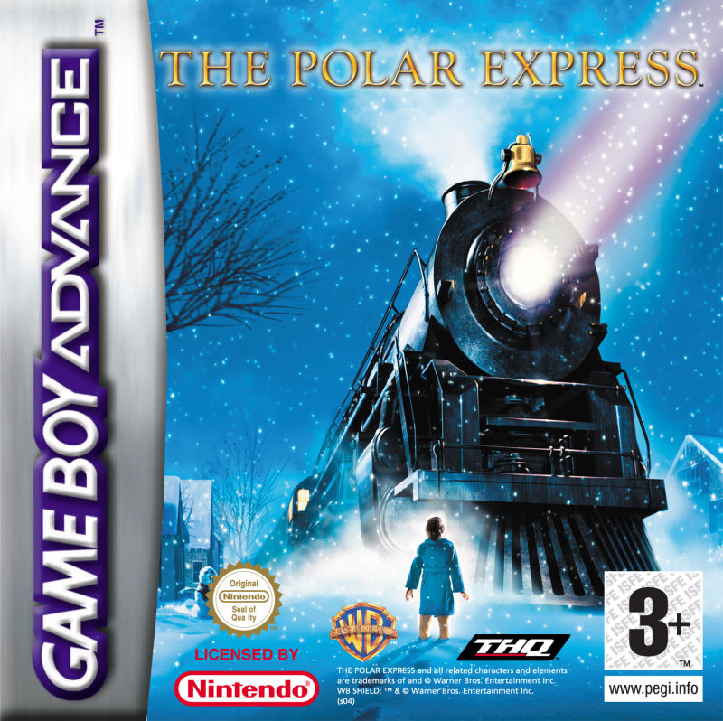 The Polar Express Game Boy Advance Front Cover