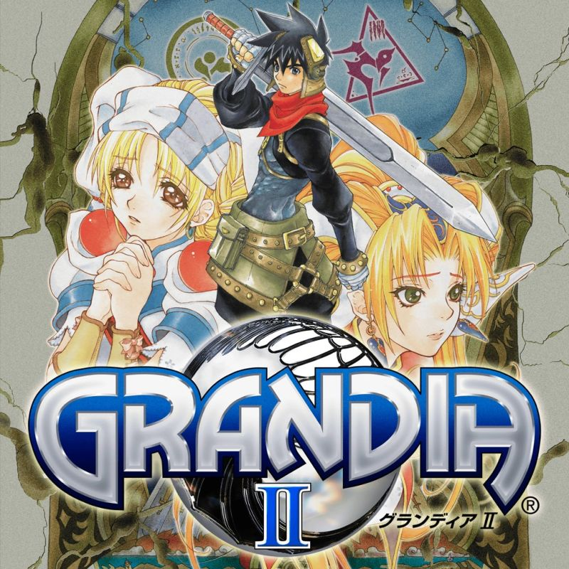 Grandia II PlayStation 3 Front Cover