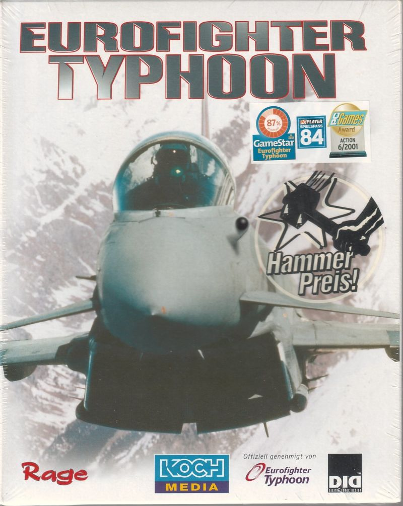 Eurofighter Typhoon Windows Front Cover