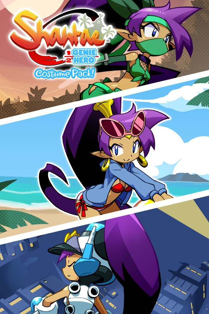 Shantae: Half-Genie Hero - Costume Pack (2018) PlayStation ...