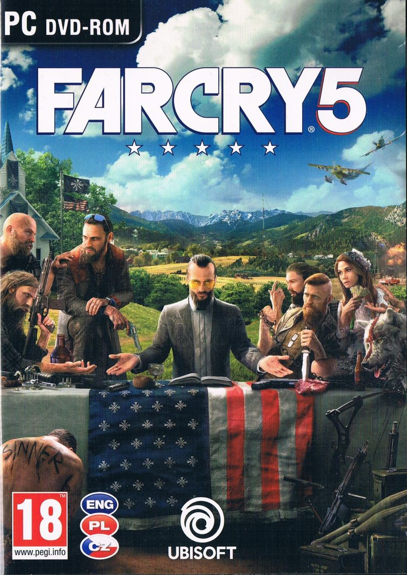 far cry 5 2018 playstation 4 box cover art mobygames